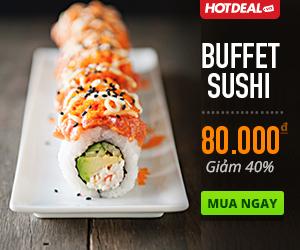Banner Sample 300×250 Buffett Sushi Hotdeal