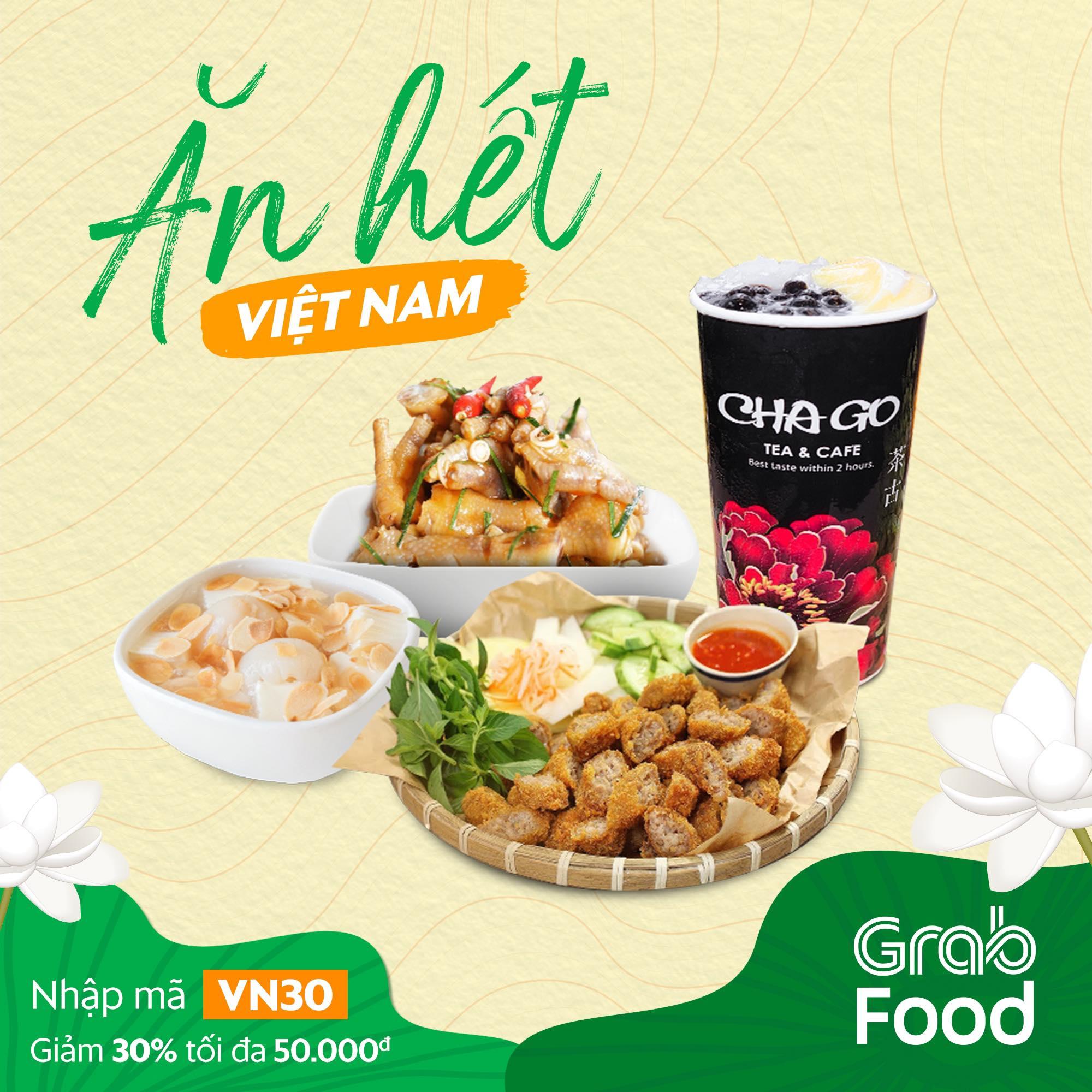 Grabfood An mon Vietnam