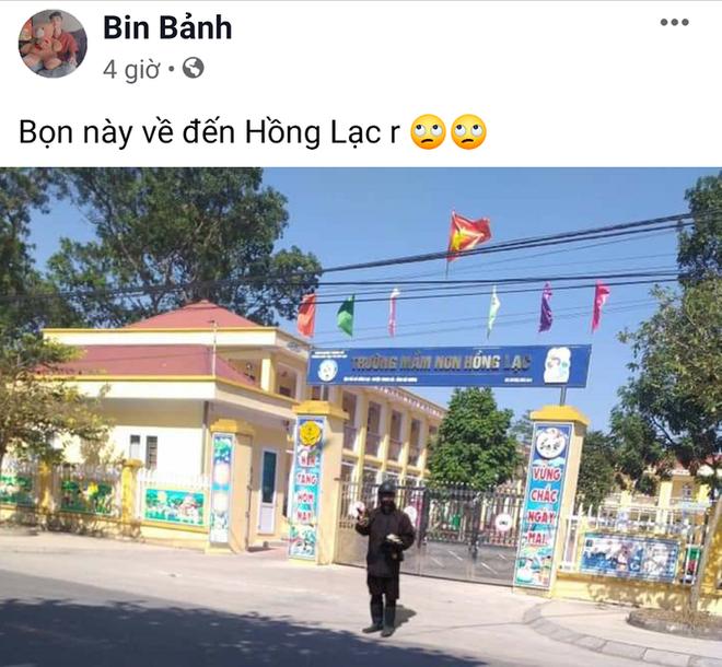 Hình ảnh người ăn xin mặc đồ đen xuất hiện trước cửa trường học ở Hải Dương bị phanh phui là dàn dựng