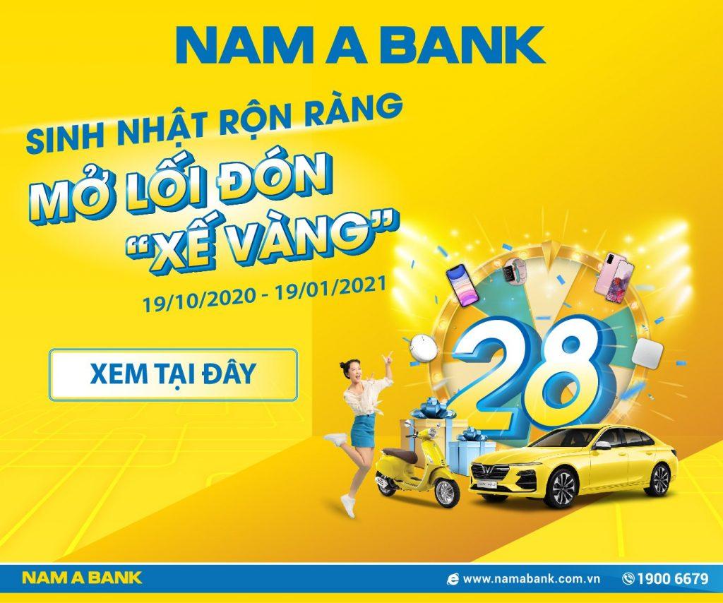 NamA Bank Sinh nhật